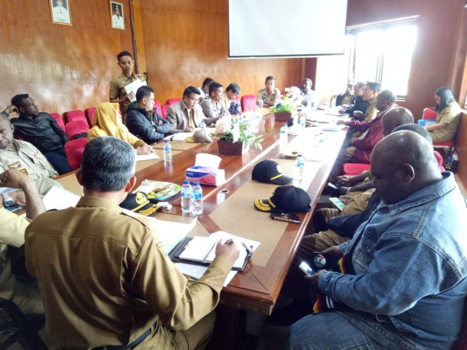 Rapat HUT RI Puncak Jaya